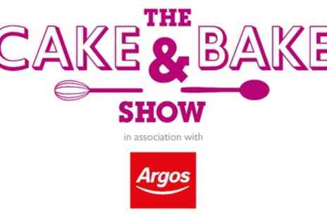 The Cake & Bake Show - Afternoon or Day Ticket to The Cake & Bake Show on 10 to 13 November - Save 33%