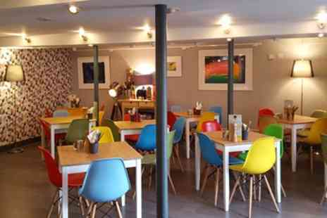 Cafe Nucleus - Afternoon Tea for 2 including Bubbly - Save 34%