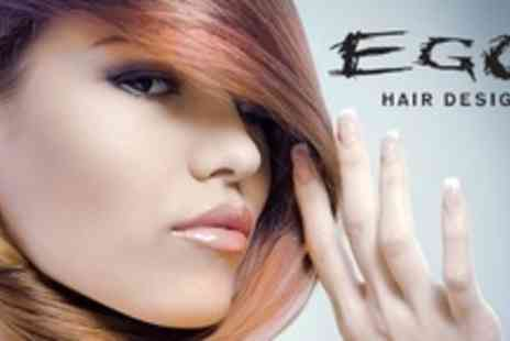 Ego Hair Design - Ladies Cut, Conditioning Treatment and Blow Dry - Save 33%