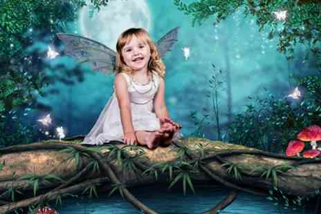 F4 Photography - Superhero, Fairy or Princess Photoshoot with Print - Save 78%