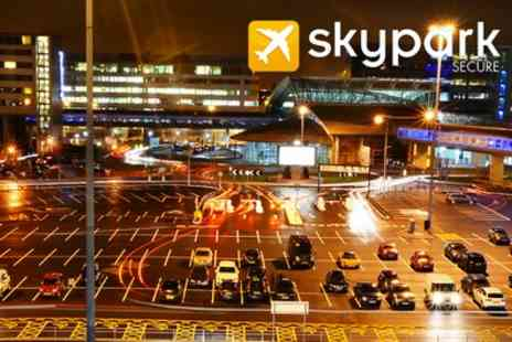 Sky Park Secure - Park and Ride Service for Up to 15 Days - Save 0%
