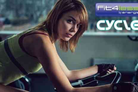 Fit4Les - Five Spinning Classes - Save 60%