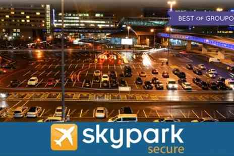 Sky Park Secure - Park and Ride Four, Eight and Fifteen Days - Save 0%