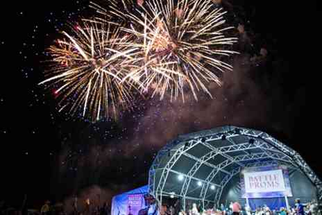 Battle Proms 2017 - Classical Summer Concert  for Two with Cheeseboard and Bottle of Wine - Save 0%