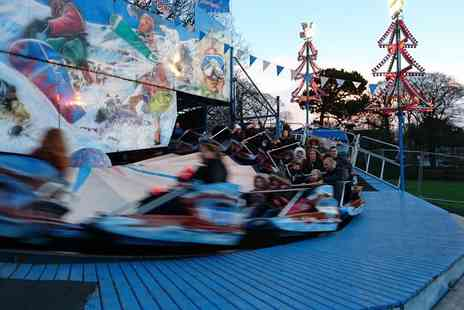 Funfair Rides - Adult and child ticket to Santa Land, unlimited rides and Santas grotto - Save 37%
