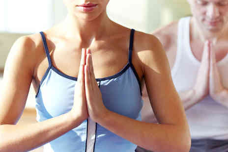 Yoga Hub - Eight hot yoga classes - Save 67%