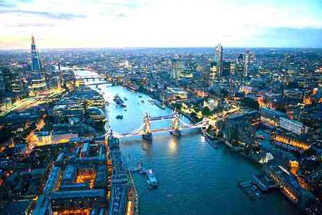 Thames Party Boats - Four hour Thames party boat cruise ticket for one with sparkling wine reception departing - Save 40%