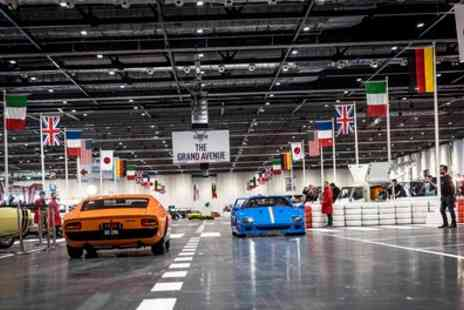 The London Classic Car Show - The London Classic Car Show on 24 To 26 February - Save 31%