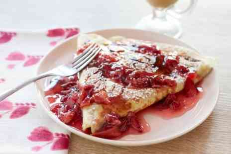 Crepe Cottage - Crepes or Waffles with a Soft or Hot Drink - Save 54%