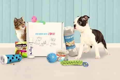 Animal Box - Six piece Purrfectbox or Pawsomebox first month subscription - Save 65%