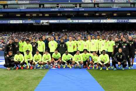 Chelsea FC - Chelsea FC Stadium Tour with Museum Entry, Photo and Meal for One Adult or Child - Save 27%