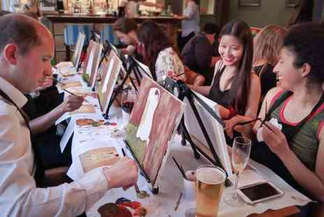 Artistique Paint Club - Painting Experience for One or Two - Save 29%