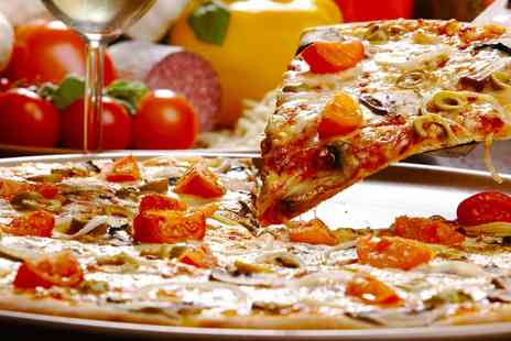 Salvatores Kitchen - Choice of Pizza or Pasta with a Glass of Wine or Pint of Lager for Up to Four - Save 42%