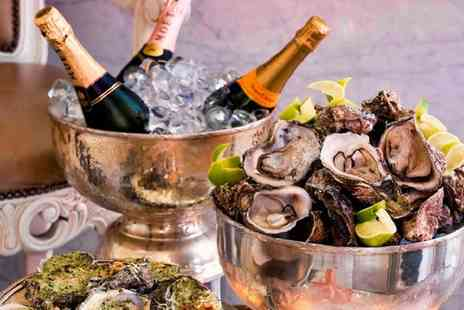 Crystal Palace - 12 Oysters to Share and a Glass of Champagne for Two - Save 49%