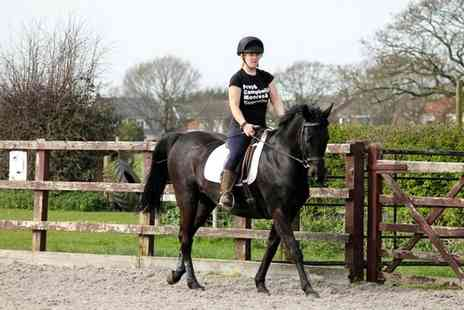 Croft Riding Centre - Introductory Horse Riding Lessons for One or Two Children - Save 54%