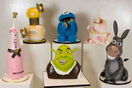 3D Cakes - 2.5 Hour or Full Day Cake Masterclasses - Save 74%