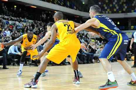 The Copperbox - London Lions Basketball Premium or Family Ticket to a Choice of Match - Save 53%