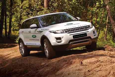 Brandscape - Land Rover driving experience with a choice of 30, 60 or 90 minute drives - Save 0%