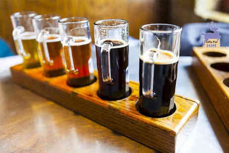 Bier Huis - Beer tasting experience for two with nibbles - Save 53%