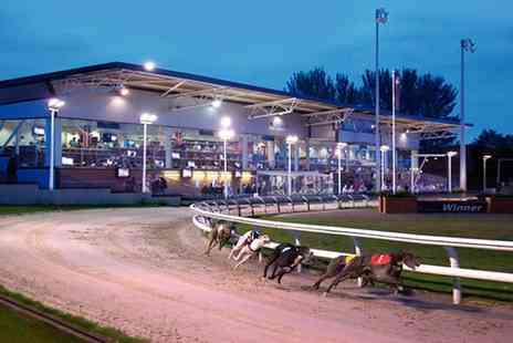 DrumboPark - Entry to Greyhound Races with a Race Card, Burger and Drink for One, Two or Four - Save 0%