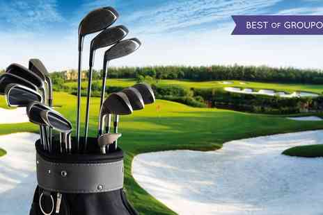 Wildwood Golf & Country Club - 18 Holes of Golf with Bacon Roll and Coffee for Two or Four - Save 69%