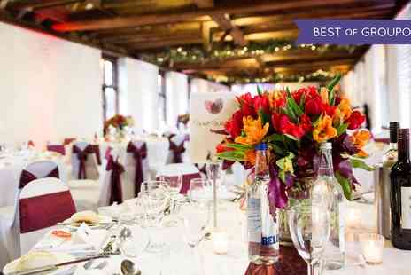 Tudor Barn - Wedding Package for Up to 60 Day Guests - Save 45%