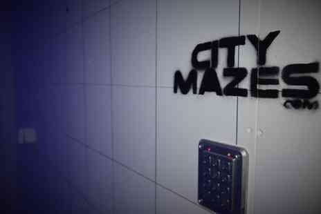 City Mazes - Live Escape Game for Four, Six or Eight at City Mazes, Three Locations - Save 51%