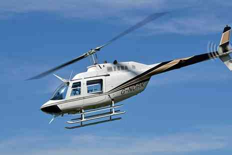 Helicentre Aviation - Helicopter Buzz Flight for One or Two with Optional Front Seat Experience for One - Save 0%