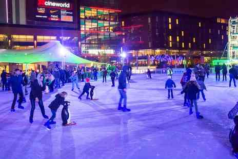 Arena Ice - Ice Skating Session for One Child or Adult or Family of Two Adults and two Children in Wembley - Save 20%