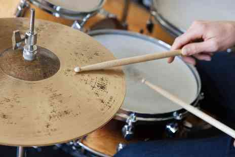 Rhythm Room -  Three 45 minute one to one drumming lessons - Save 72%