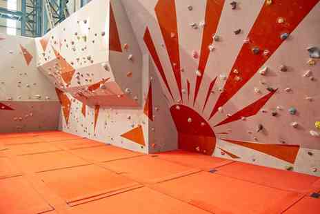 Sunderland Wall - One Hour Bouldering Session with Membership for Up to Six - Save 60%