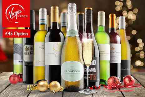 Virgin Wines - Six bottle Christmas selection of hand crafted boutique wines - Save 55%