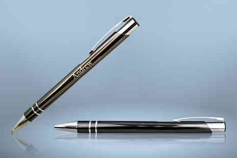 Aspire - Personalised Mayfair executive pen - Save 79%
