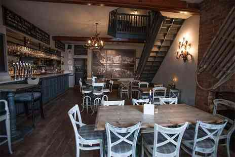 Piste Wine Bar and Restaurant - Sunday lunch for two including coffee - Save 55%