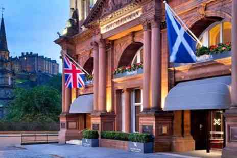 The Caledonian Operation Company - Michelin Recommended Meal & Prosecco for 2 - Save 52%