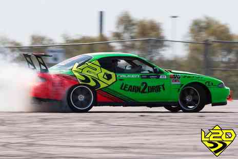 Learn2Drift - Four hour car drifting experience including three passenger laps with six passenger laps - Save 67%