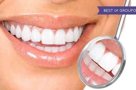 Dental Care London - Zoom Teeth Whitening with Optional Polish, or Advanced Teeth Whitening Package - Save 77%