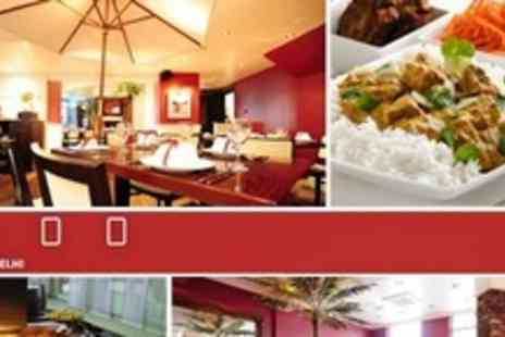 4500 Miles from Delhi - Indian All You Can Eat Lunchtime Buffet Meal For Two - Save 50%