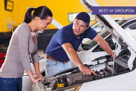 VTS Automotive - 45 Point Winter Car Service with Diagnostic Check and an Oil and Filter Change - Save 74%