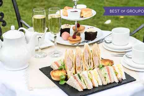 Hadley Park House Hotel - Afternoon Tea with Wine for Up to Six - Save 40%