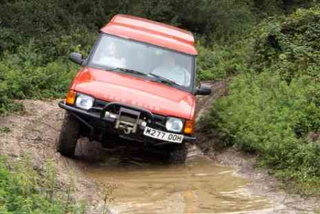 Dorset 4X4 - Adult or Junior Two Hour 4x4 Off Road Driving Experience - Save 67%
