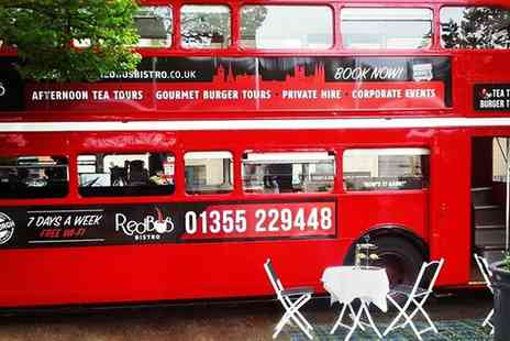 Red Bus Bistro - Christmas Dinner for Two on the Red Bus Bistro Tour - Save 38%