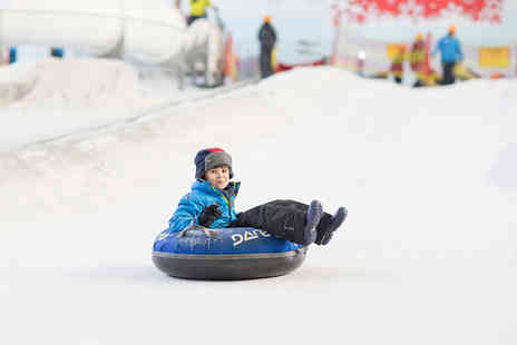 Chill Factore - Santas Grotto experience and one hour snowpark pass for one adult and one child - Save 30%