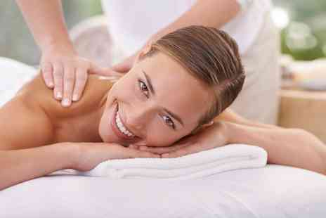 Serenity Beauty - 30 Minute Back, Neck and Shoulder or 60 Minute Full Body Aromatherapy Massage - Save 0%