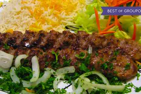 The Old Fire Station - Three Course Persian Dinner with Wine for Two or Four - Save 48%