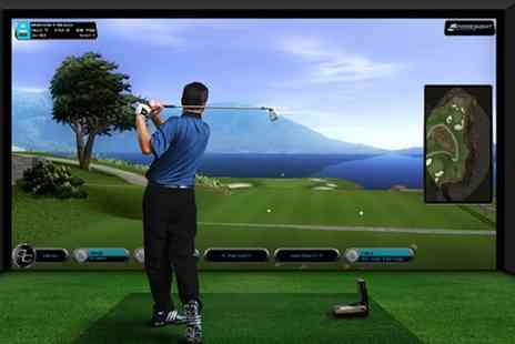 Epsom Golf Club - Three Hours of Golf Simulator for Up to Eight - Save 43%