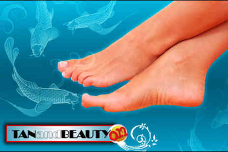 Tan and Beauty On - 20-minute Garra Rufa fish pedicure - Save 70%