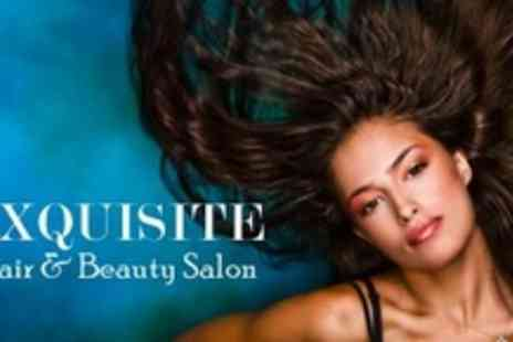 Exquisite Hair Salon - Keratin Blow Dry and Haircut - Save 69%