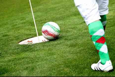 Golf Kingdom - 18 Holes of Footgolf for One Adult, Child or Group of Four - Save 32%