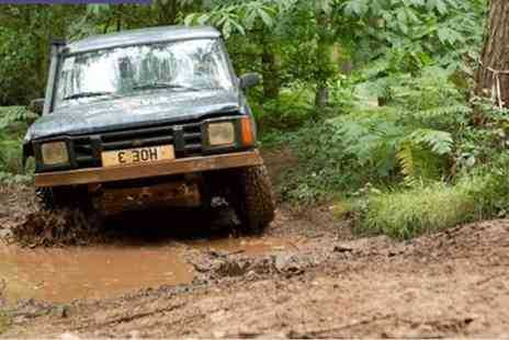 Heart of England - One hour 4x4 off road driving and one hour archery experience for one - Save 64%